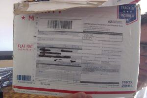 :David-Wynn: Miller's Autograph on USPS package