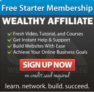 wealthy affiliate starter membership