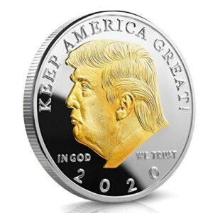 trump gold silver coin